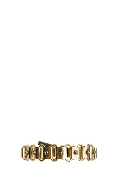 Memphis Antique Brass Bracelet
