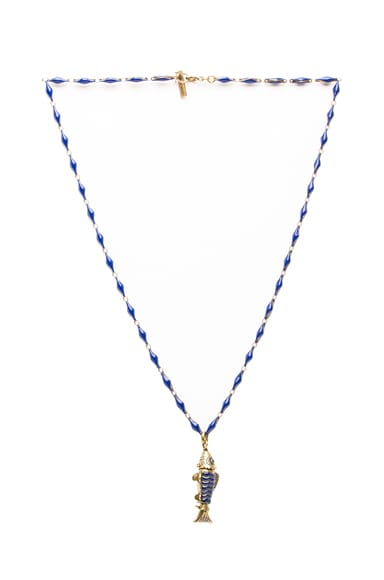 Watergate Fish Necklace