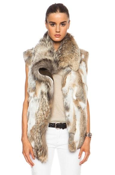 Astia Steppe Fur Vest