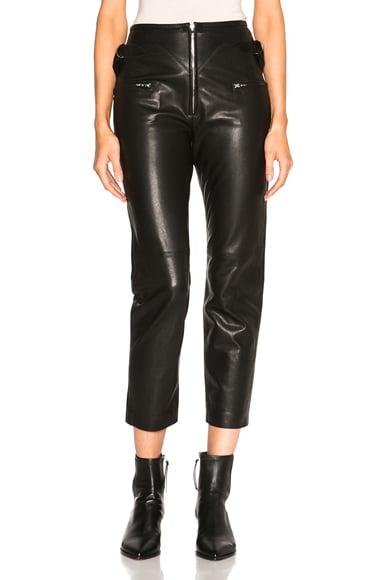 Florrie Leather Pants