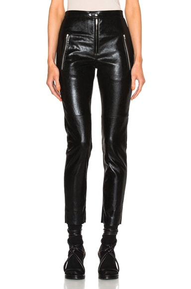 Arnold Stretch Leather Pants