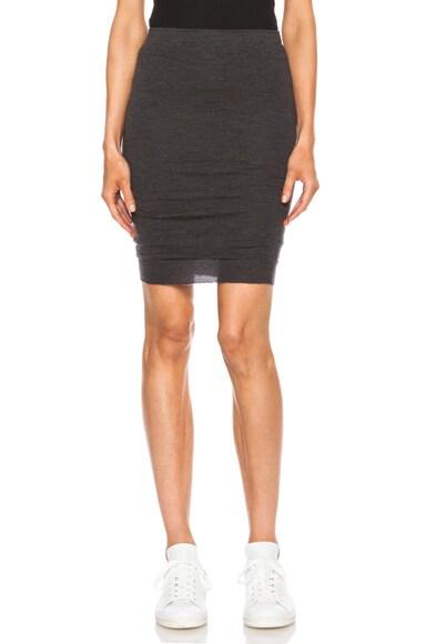 Lou Cashmere Knit Skirt