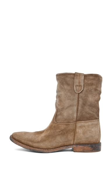 Jenny Velvet Boot