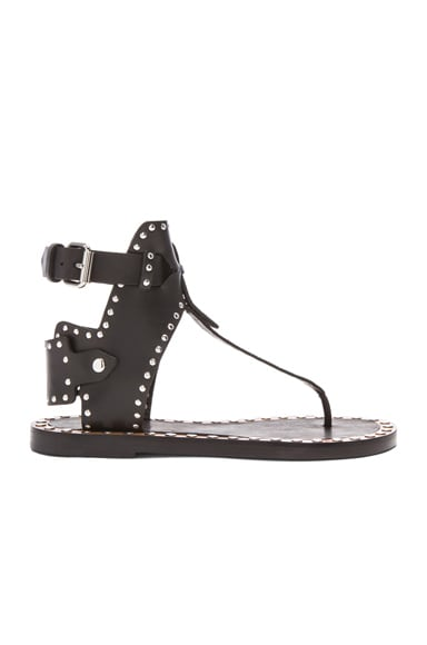 Johanna Pomponius Calfskin Leather Sandals