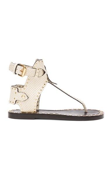 Johanna Pomponius Calfskin Leather Sandals