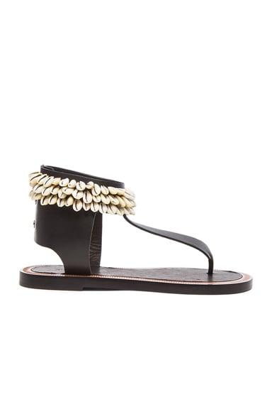 Jean Cauri Leather Sandals