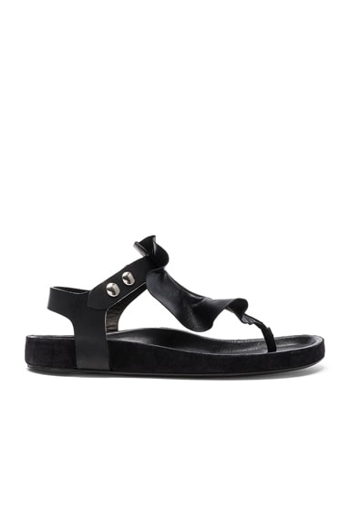 Leather Leakey Sandals
