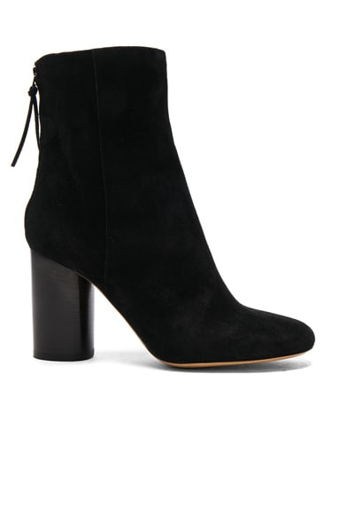 Garett Velvet Boots