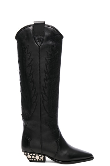 Leather Dinzi Boots