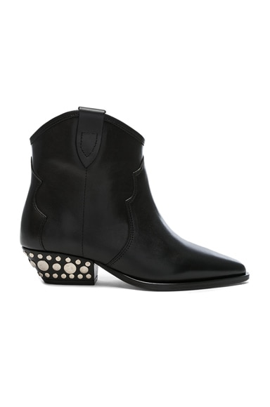 Leather Dawyna Boots