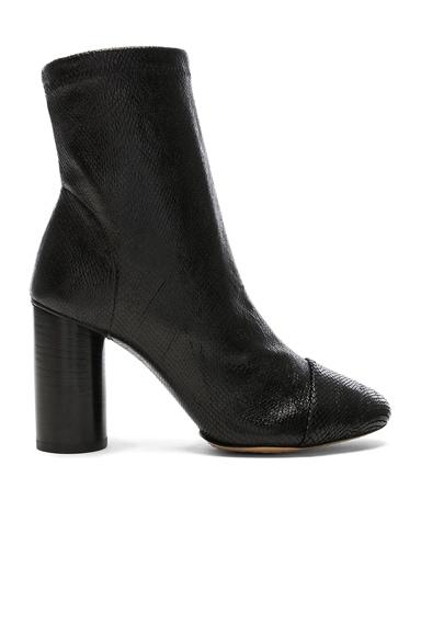 Lizard Embossed Rillyan Boots