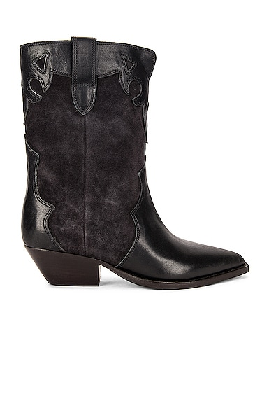 Isabel Marant Duoni Boot In Faded Black