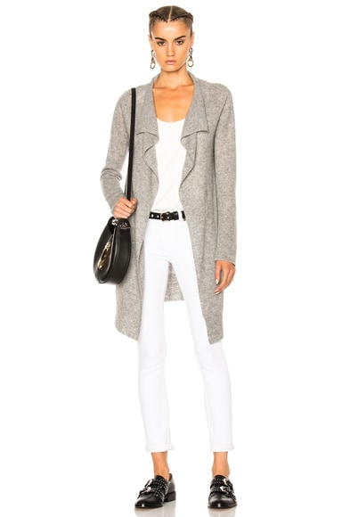Thermal Stitch Cashmere Cardigan