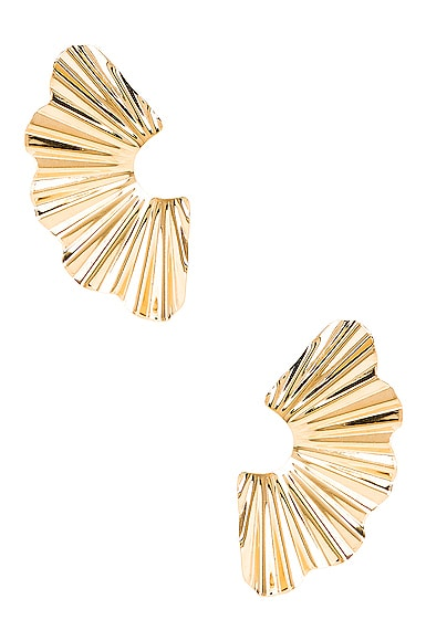 Jennifer Behr Nautia Earrings in Gold | FWRD