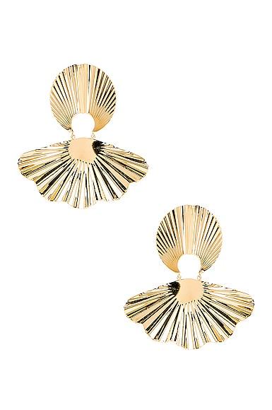Jennifer Behr Nerissa Earrings in Gold | FWRD
