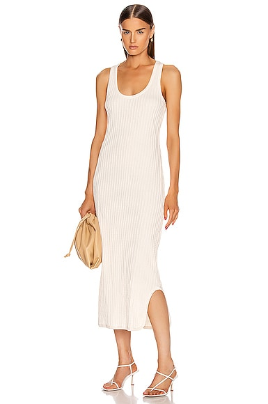 Pleated Tank Top Dress