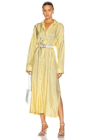 Packaway Shirt Dress