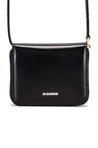 Hook Zip Wallet Crossbody Bag