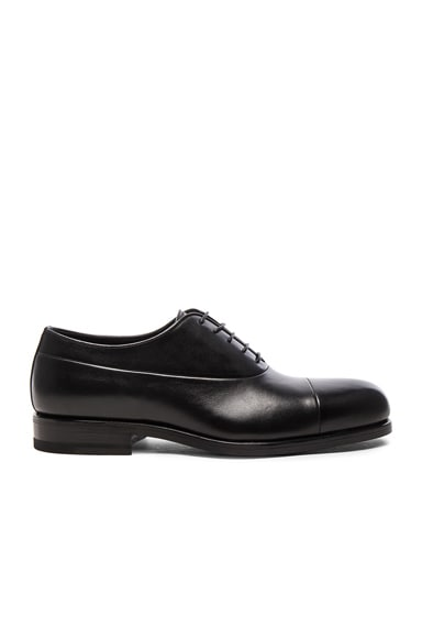 Leather Maremma Oxfords