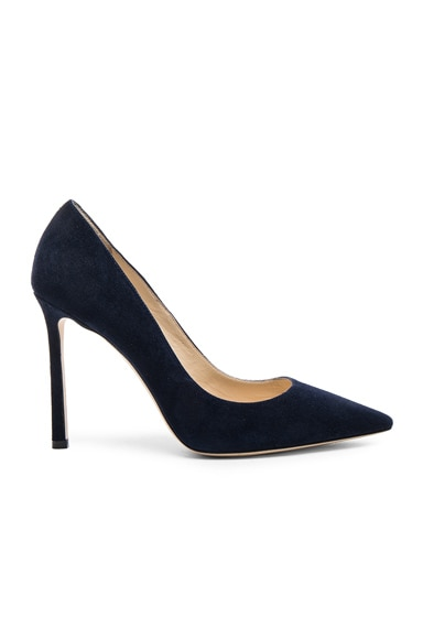 Suede Romy Pumps