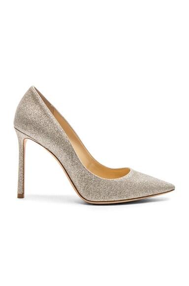 Romy 100 Dusty Glitter Heels