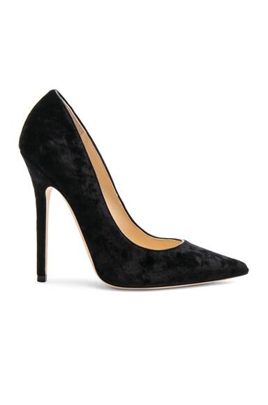 Crushed Velvet Anouk Heels