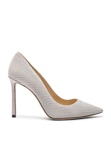 Romy 100mm Embossed Heel