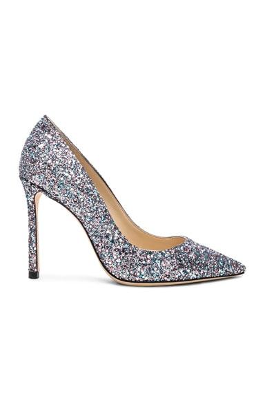 Romy 100 Glitter Heels