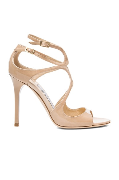 Lang Leather Heeled Sandals