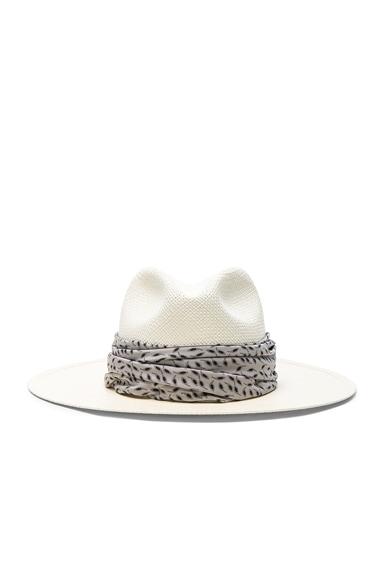 Marine Short Brimmed Panama Hat
