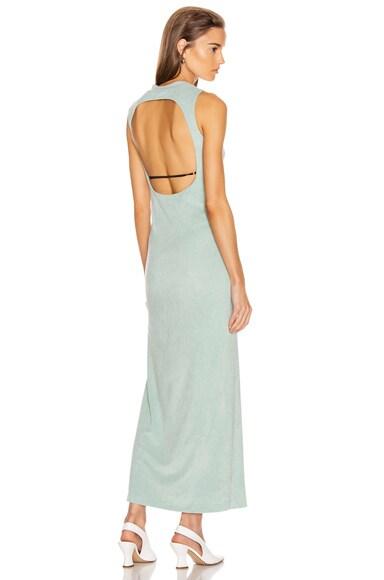 Velvet Jersey Maxi Dress