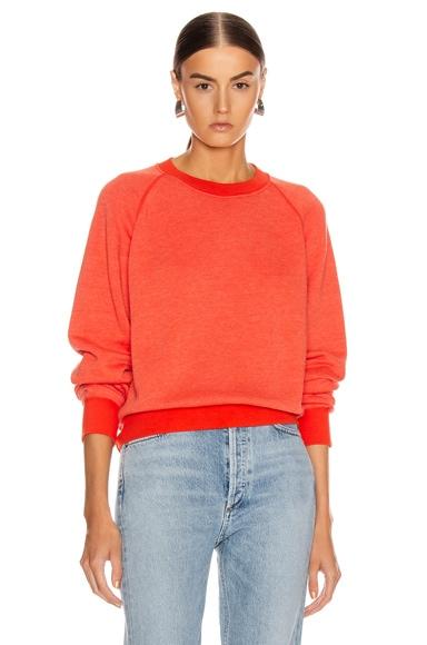 Vintage Fleece Crew Sweater