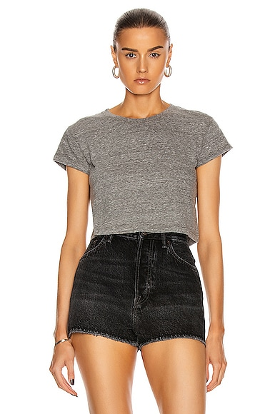 Jersey Cropped Tee