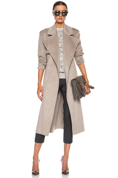 Win Double Face Cashmere Coat