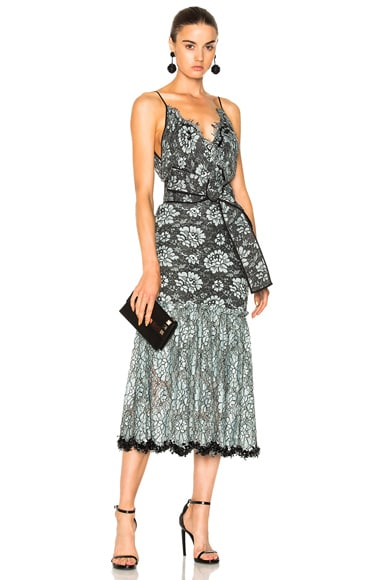 Frontera Lace Embroidered Dress
