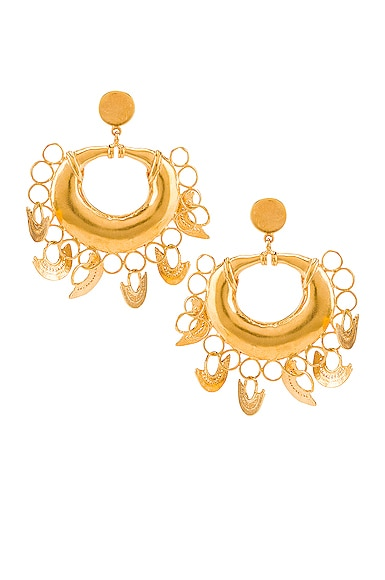 Albarcoque Earrings