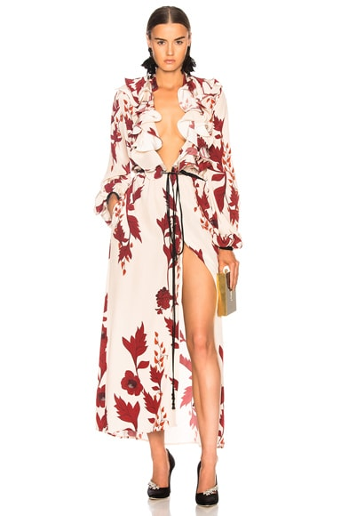 Cape of Good Hope Silk Crepe Kimono