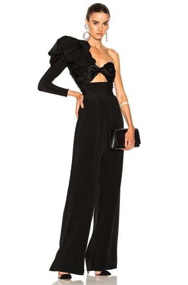 Love Spell Silk Crepe Jumpsuit