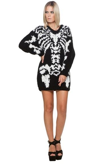 Skeleton Big Sweater