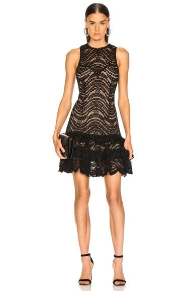 for FWRD Sleeveless Ruffle Lace Dress