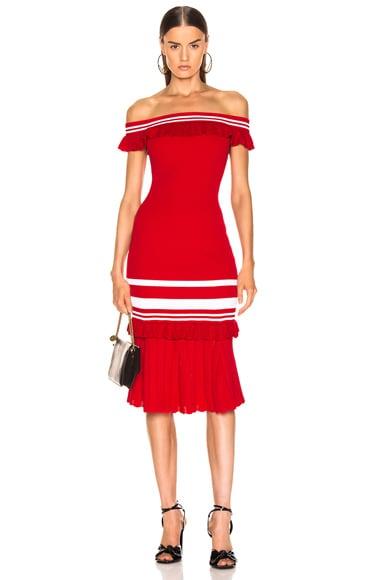 for FWRD Off the Shoulder Knit Dress