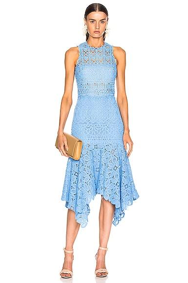 Crochet Lace Handkerchief Dress