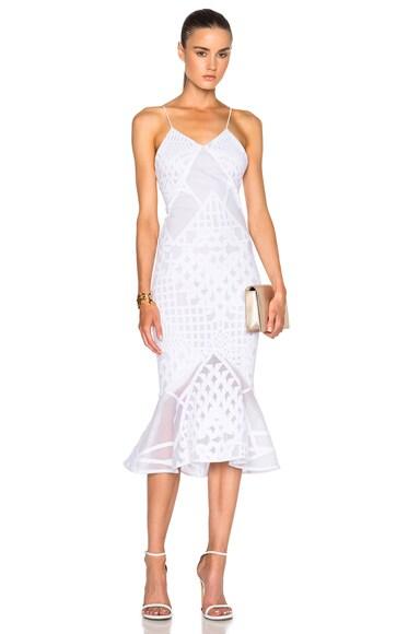 Bonded Burnout Dress