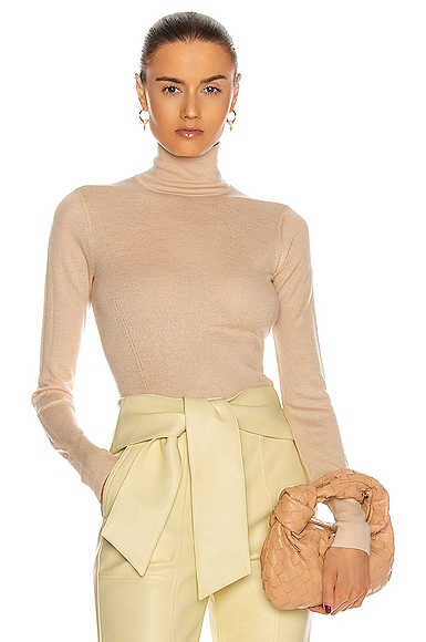 JONATHAN SIMKHAI FAITH CASHMERE TURTLENECK SWEATER
