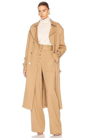 Structured Utility Coat