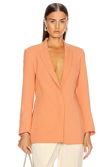 Patch Pocket Boyfriend Blazer