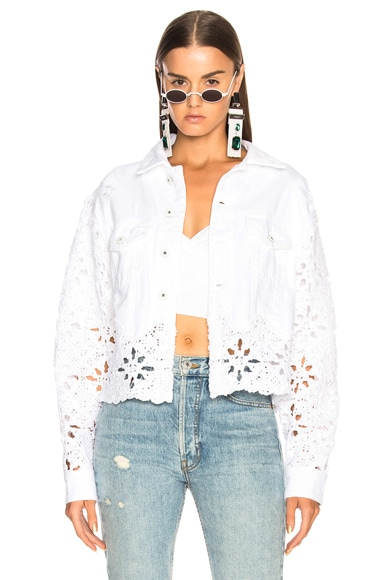 Macrame Cropped Jacket