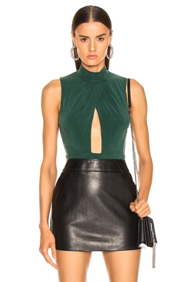 Sueded Jersey Bodysuit