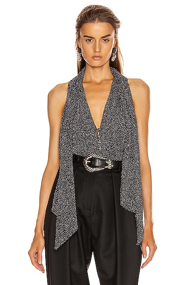 Glitter Jersey Sleeveless Top