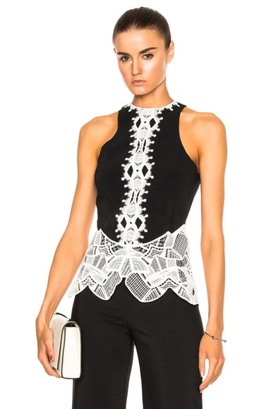 for FWRD Lace Peplum Top